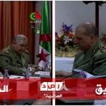 Le général Toufik et tartag à l'école militaire de Tamanfoust (19/03/2013)