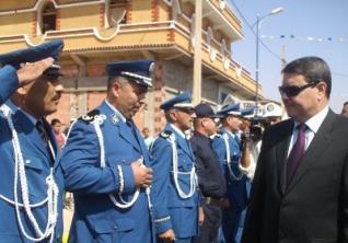Le DGSN, le général-major Abdelghani Hamel